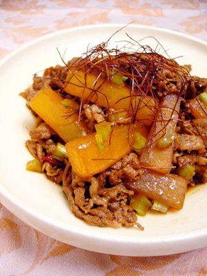 【ELLE a table】大根と牛こま肉の韓国風レシピ エル・オンライン