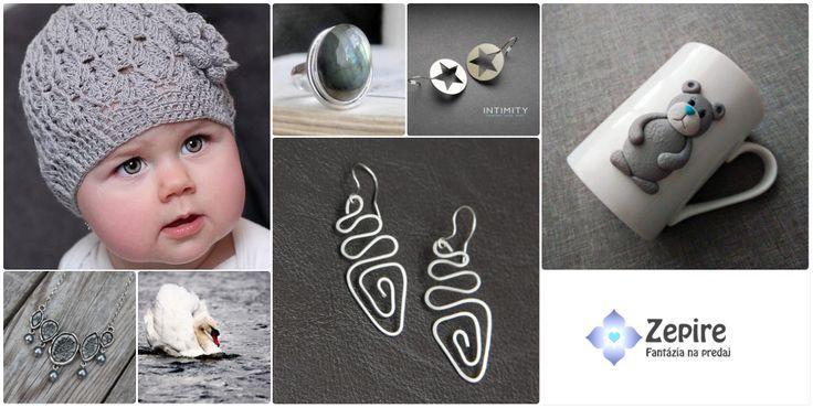 V šedi :) Handmade produkty z tohto výberu nájdete na https://www.zepire.com/view/nomination/1462