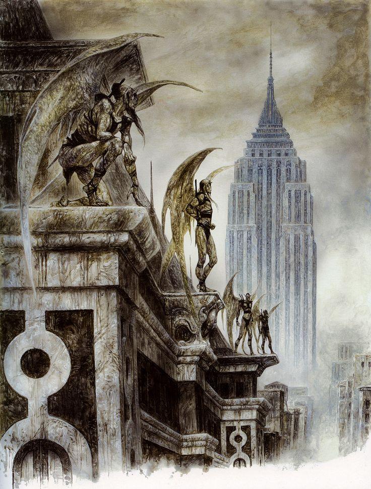 Apocalypse 19 - Luis Royo, perspectiva conica