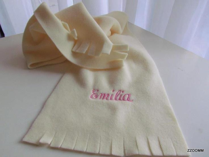 Bufanda polar especial para Emilia