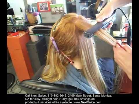 17 Best Images About Hair Straightening Los Angeles On