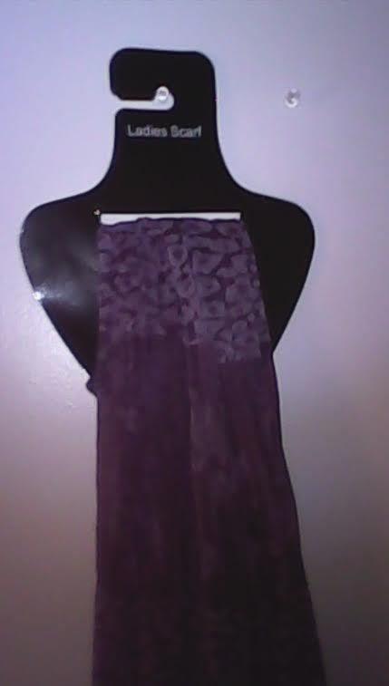FOE SALE>>>Ladies Lightweight Purple  Scarf #Floral