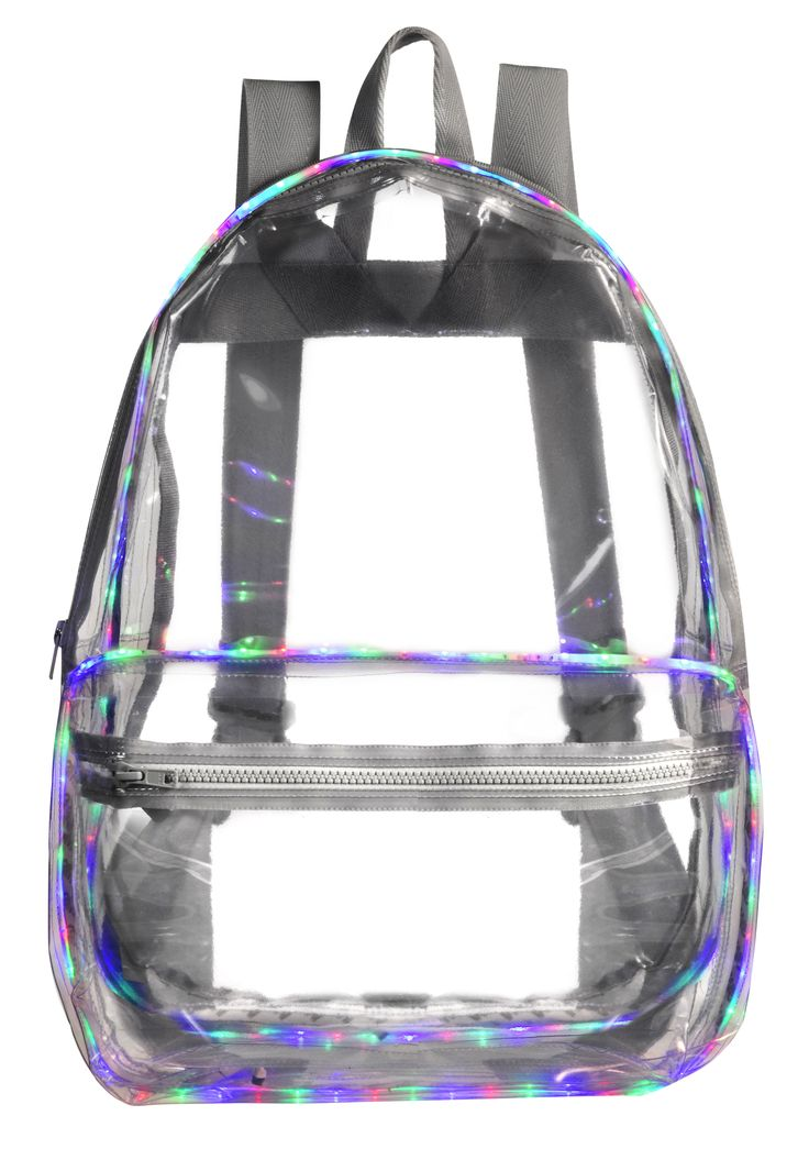 LED Backpack by Ashish x Topshop, £350 | With love | Clear ...