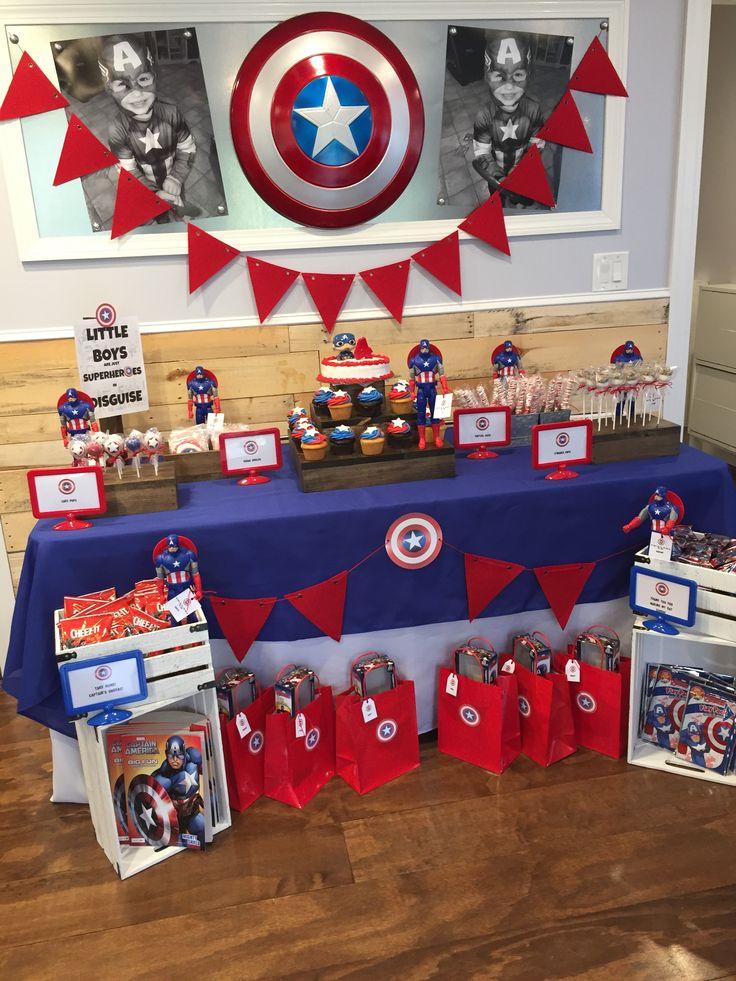 Capitán América  I love the photos!
