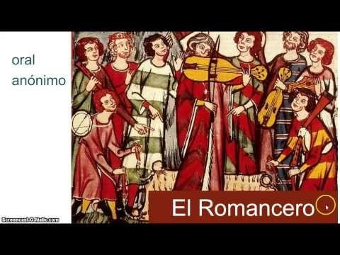La literatura medieval espanola - YouTube http://www.pinterest.com/briciasilvavill/literatura-espa%C3%B1ola-textos/