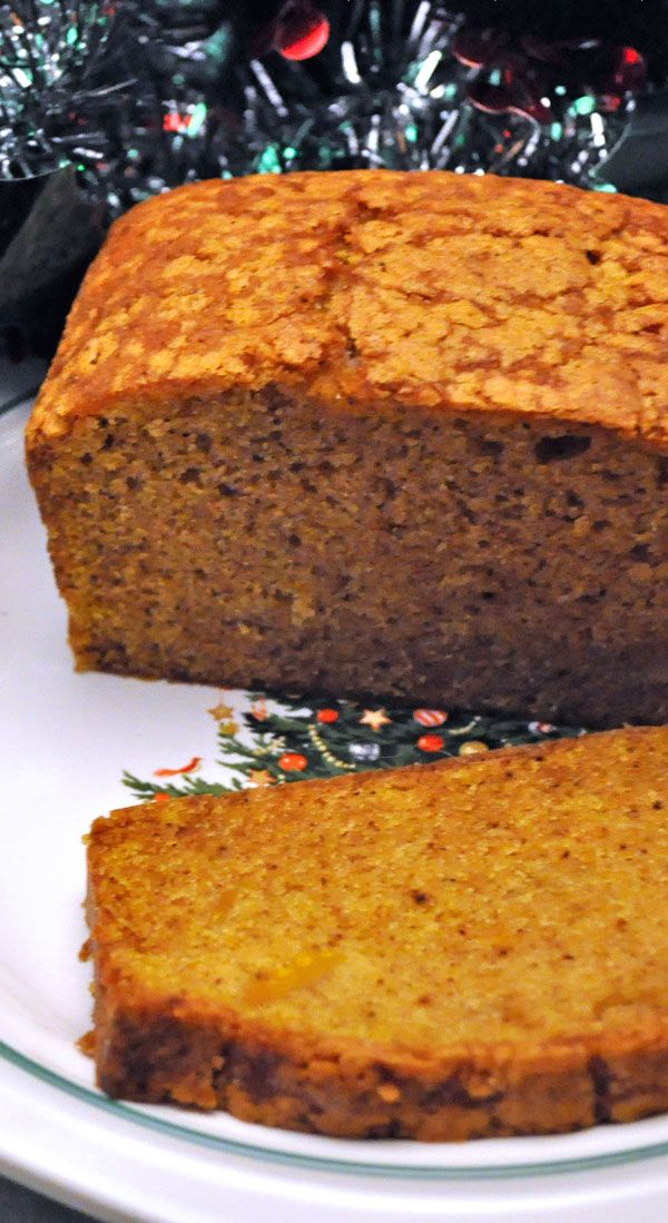 Pumpkin Bread or, in my case, Butternut Squash Bread. Either way - easy and delicious and perfect for holiday teas