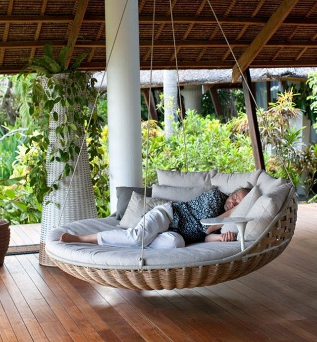 1000 ideas about outdoor swing beds on pinterest. Black Bedroom Furniture Sets. Home Design Ideas