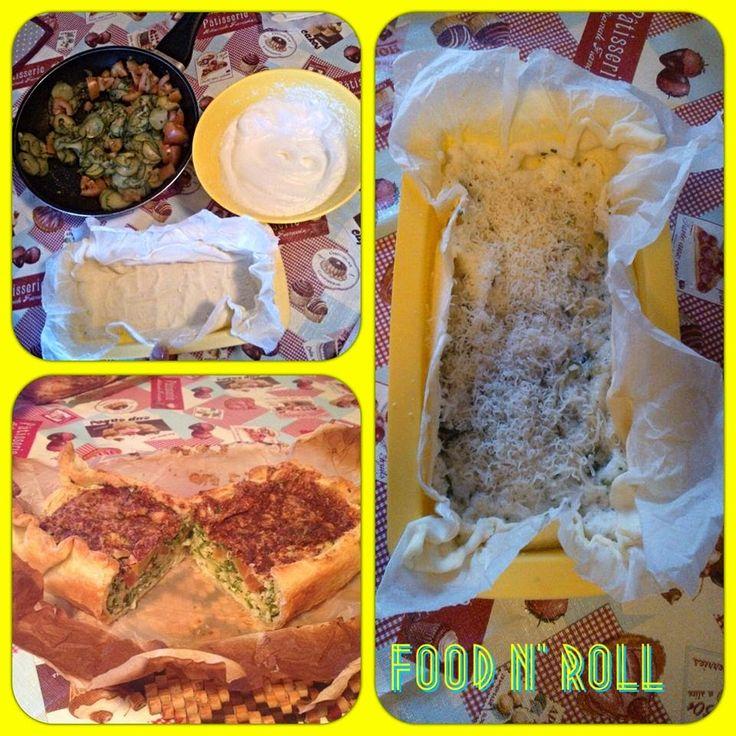 FOOD N' ROLL   ......................   il blog   ...: TORTA SALATA ( ricicliamo gli albumi)...