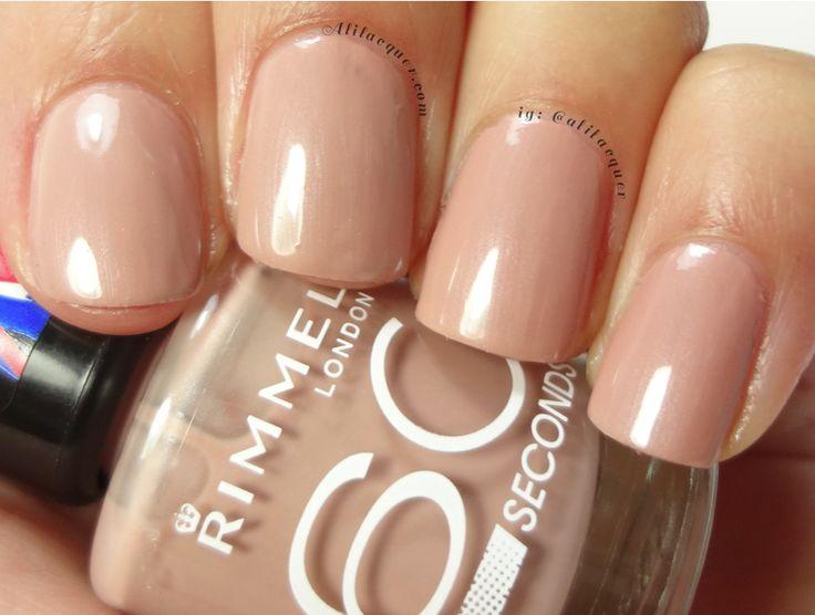 rimmel nail polish caramel cupcake