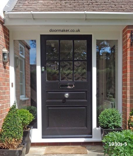 266 best front door for 1930s house with side panels images on 1930s front door black eventshaper