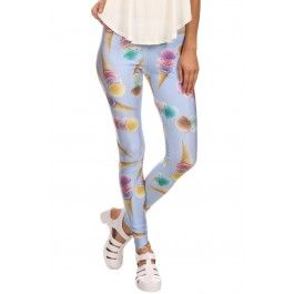 Women's Ice Cream Leggings