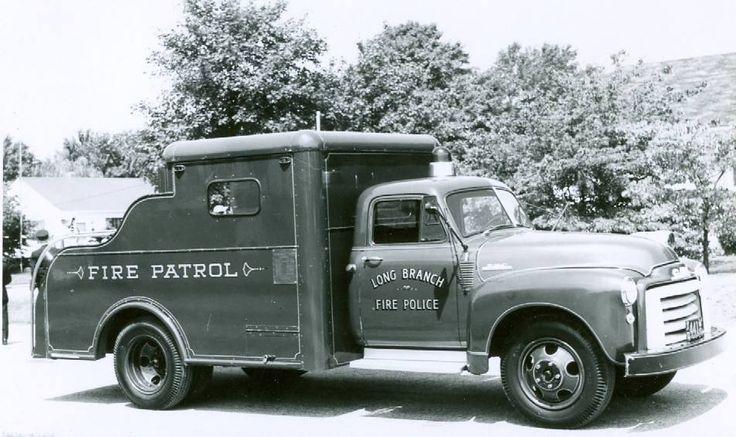 Vintage Fire Patrol, Long Branch Fire Police Truck.