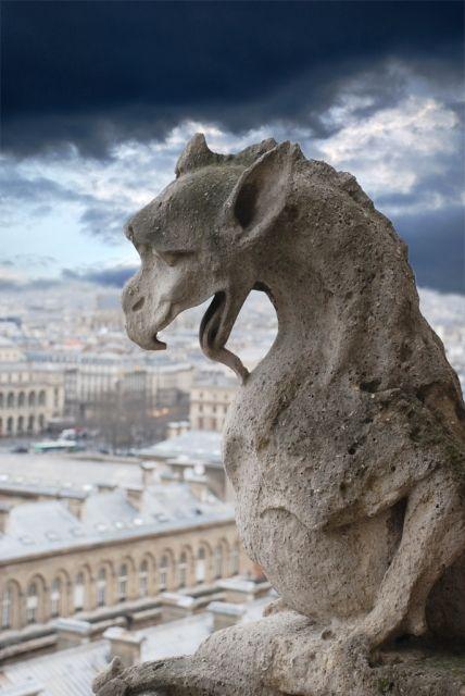Peur : Gargouille de Notre-Dame de Paris