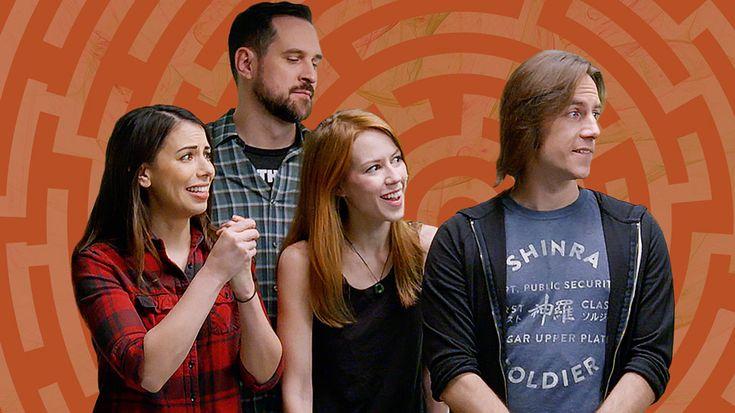 ESCAPE! – The Magic School With Matt Mercer, Marisha Ray, Laura Bailey, Travis Willingham, and Christopher Sabat #Games #escape