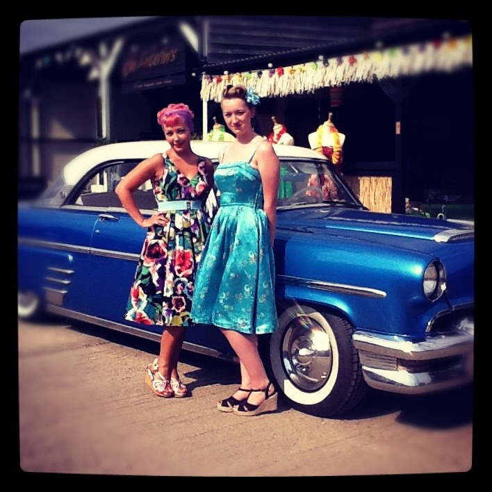Lesley's Girls- Vintage Lifestyle and Fashion Blog: Bombshell Boutique Makeovers