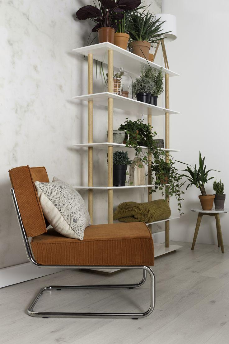 Ridge rib lounge chair