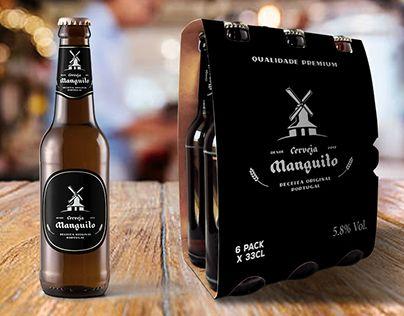 Cerveja Manguito   Manguito Beer  #packaging #craftbeer #beer #branding #icon #mark #vector #design #logo #mockup