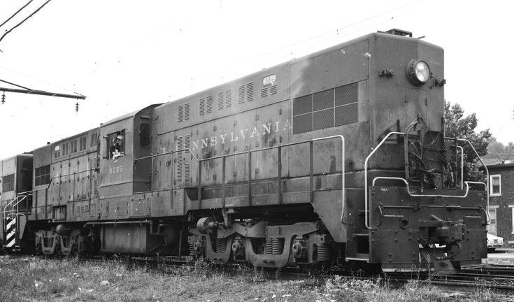 Pennsylvania railroad baldwin rt624 8725 pennsylvania