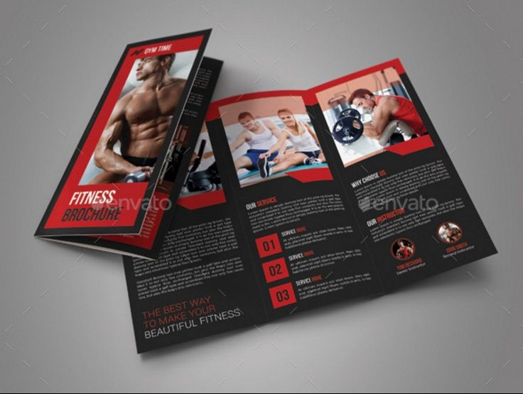 19 best 15+ Fitness Brochure Template Word, InDesign, EPS and PSD - gym brochure templates