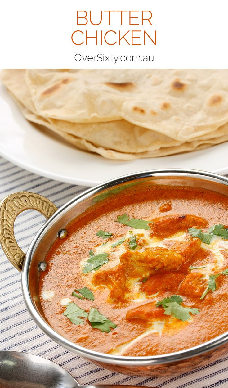 Butter Chicken Recipe - this butter chicken is a creamy, flavourful dish that's sure to warm you from the inside out. Traditionally a more mild curry, feel free to adjust the level of spice to suit your tastebuds.