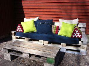 soffa av lastpallar, pallets sofa, loungesofa, thaikudde, annakarins