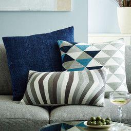 Silk Hand-Loomed Cushion Cover - Nightshade