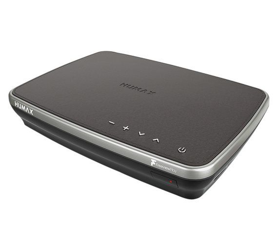 Buy Humax FVP-4000T 500GB Freeview Play TV Recorder - Mocha at Argos.co.uk, visit Argos.co.uk to shop online for Digital TV recorders, Set top boxes, recorders and satellite, Technology