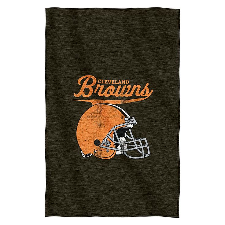 Officially Licensed NFL Sweatshirt Throw - Browns