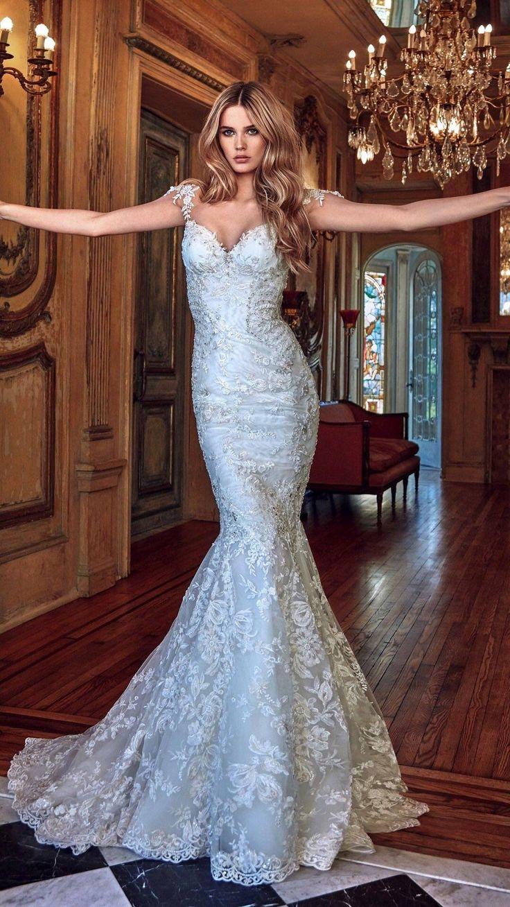42 besten Wedding Dress Bilder auf Pinterest | Bräute, Casamento und ...