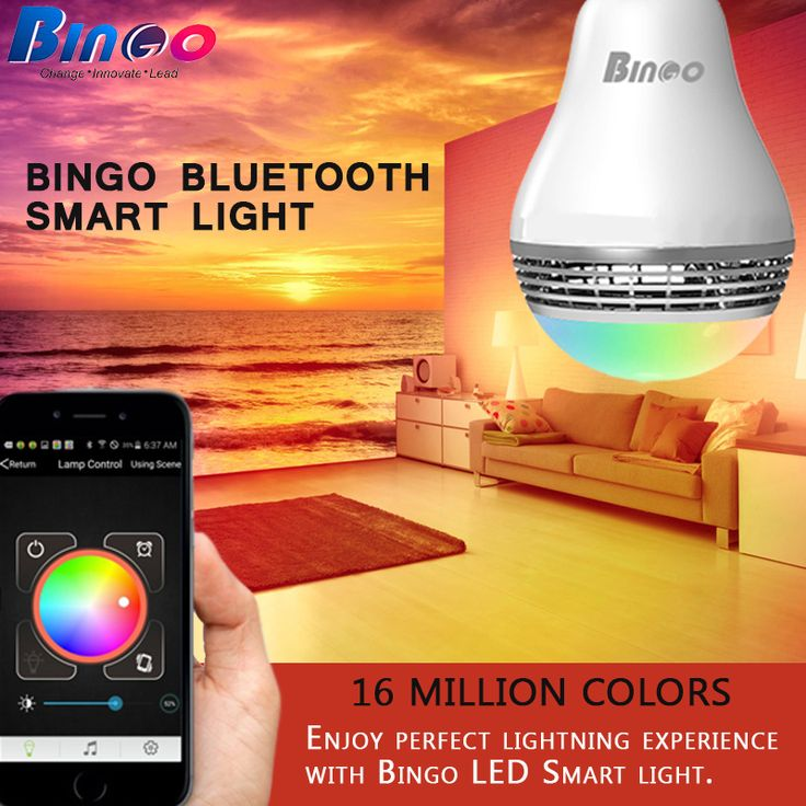 #Bingo #L2 LED bulb with excellent color quality that control Light switch, Brightness, Color and other operations (Such as Specific Lightning Effect, Music Rhythm, Timing, Turn On/Off Light).