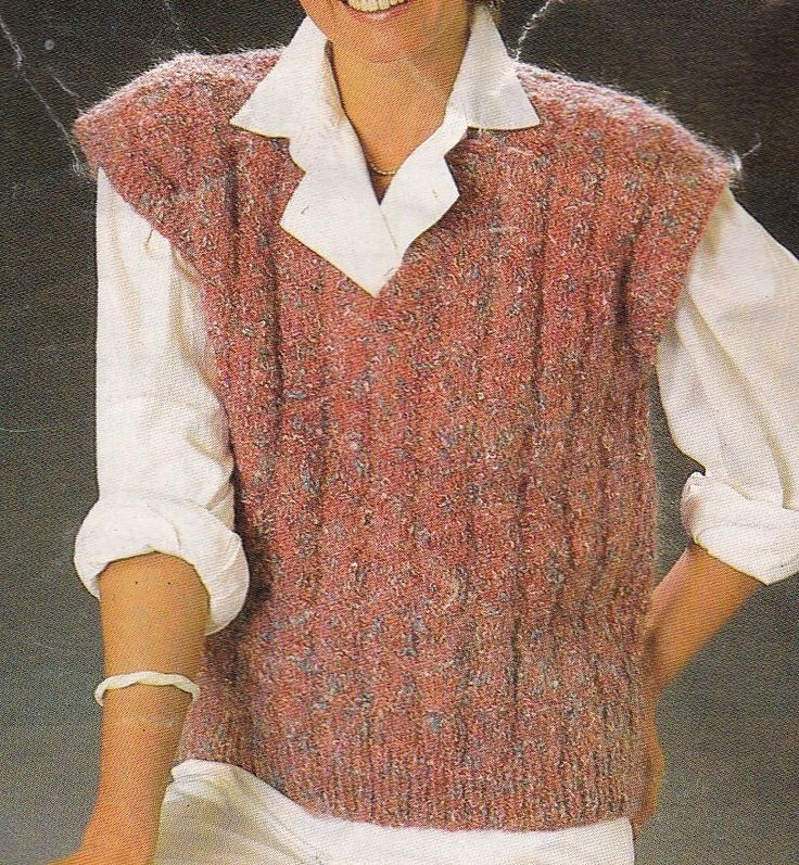 Knitting Patterns Easy Jumpers : 113 best images about Plain and Simple Vintage Knitting Patterns on Pinterest...