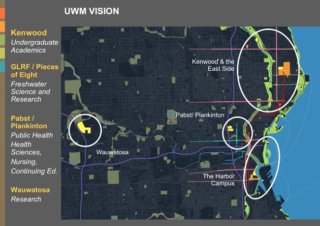 University of Wisconsin Milwaukee Master Plan