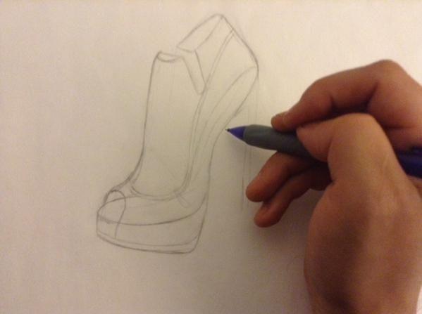 Zapatos de Novia en Proceso