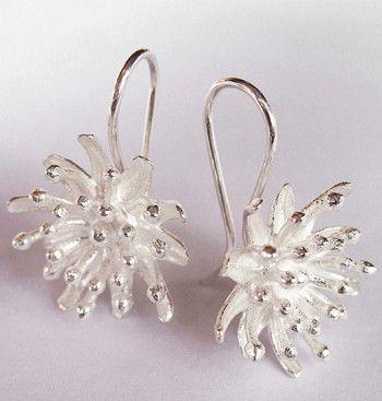 Starburst Earrings - Handcrafted Designer Jewellery New Zealand, Kiri Schumacher