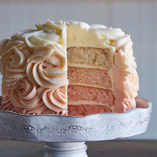 "THIS STUNNING LAYERED CAKE WILL BE THE SHOW-STOPPER AT YOUR NEXT PARTY! ""OMBRE"" IS THE FRENCH WORD FOR COLOR THAT IS SHADED IN TONE. WHATEVER THE NAME, WE THINK IT'S GORGEOUS! Shop now or join my team @ www.pamperedchef.biz/jmenting, join me on Facebook for more recipes, tips and ideas: https://www.facebook.com/JenniferMentingsPamperedChefPage/. Contact me to get some FREE. Ombre+Layer+Cake+-+The+Pampered+Chef®"