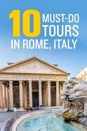 Click pin to discover the best tours in Rome, Italy actually worth paying for. - Best Things to Do in Rome, Italy. #Rome #Italy