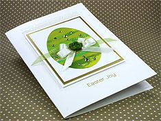 "Luxury Easter Card ""Easter Joy"""
