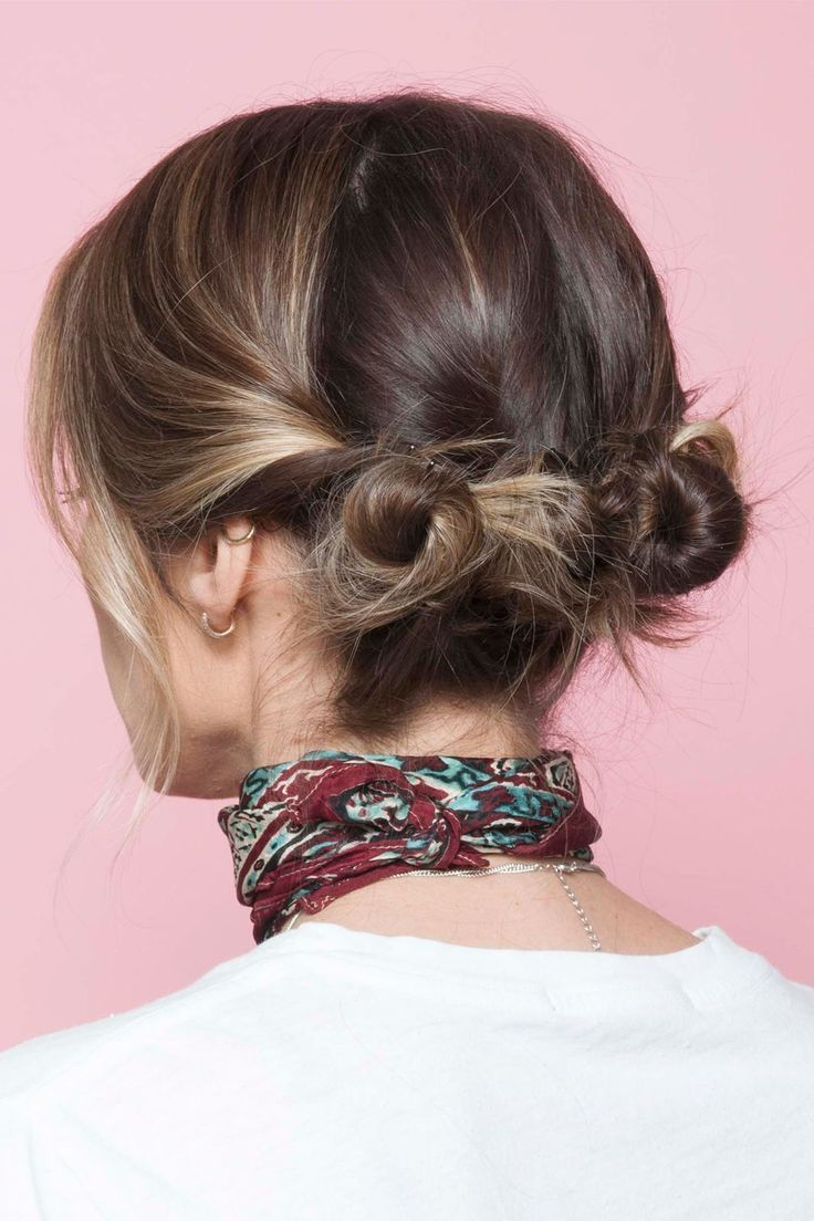 Mini buns. Shop our range of hair accessories here >  https://www.priceline.com.au/hair/home-hairdressing/tools-and-accessories