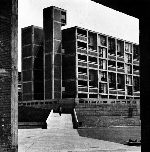 Park Hill Housing, Sheffield, South Yorkshire, England, 1957-61
