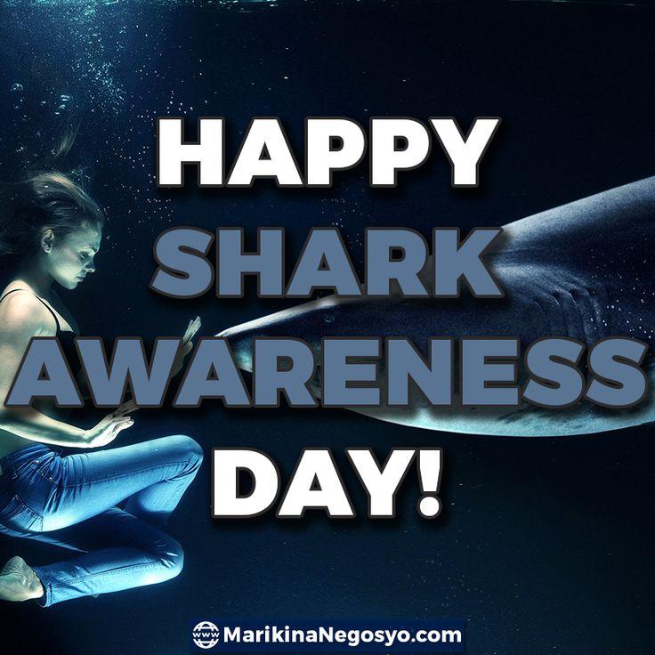 Happy SHARK AWARENESS Day!  #celebrate #day #shark #sharkawareness #marikinanegosyo