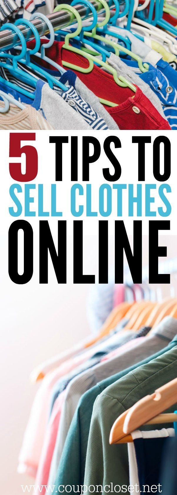 How to sell used clothes online