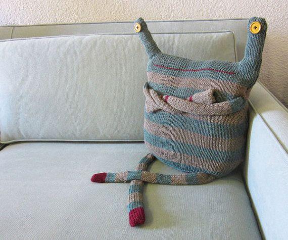 Monster Sweater Pillow