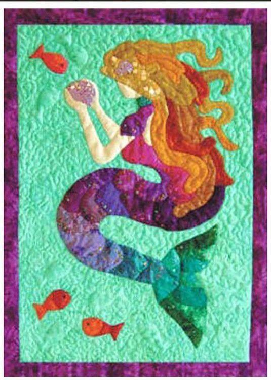 Quilt Pattern Top Of The Range Mermaid Tails Mermaid
