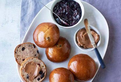 Kate's Blueberry Buns | The Great British Bake Off