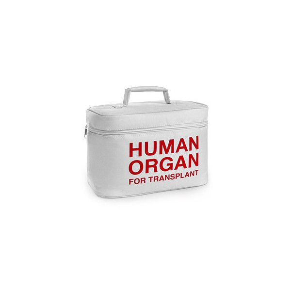 Organ Transport Lunch Cooler ($4.99) ❤ liked on Polyvore featuring home, kitchen & dining, food storage containers, lunch cooler and lunch box
