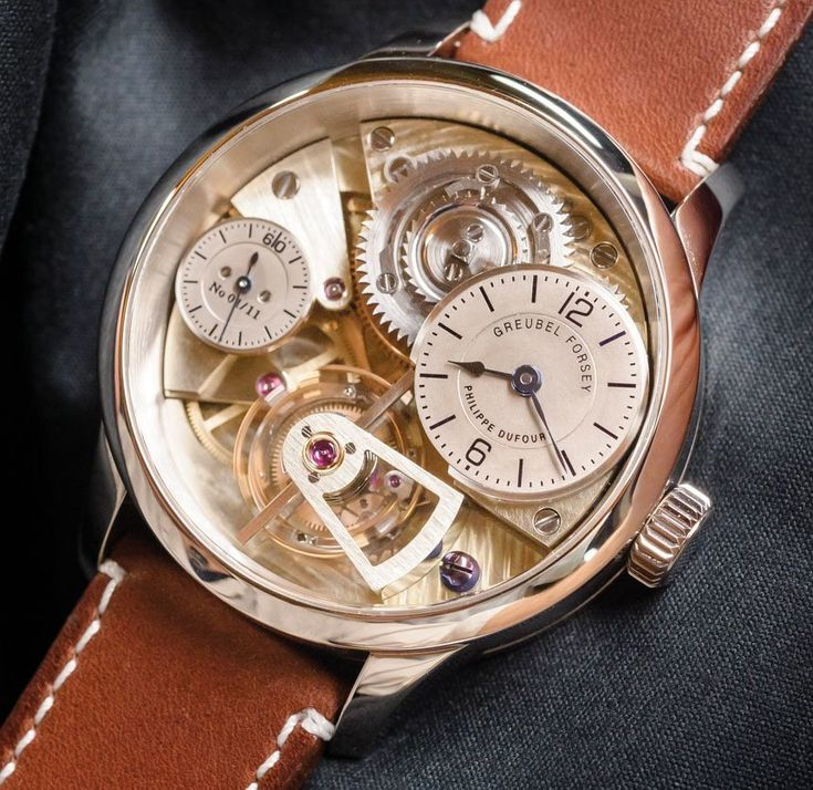 "Greubel Forsey​ & Philippe Dufour​ Present Le garde temps, naissance d'une montre​ Project - by David Bredan - see more about this unique project & watch: http://www.ablogtowatch.com/greubel-forsey-philippe-dufour-le-garde-temps-naissance-dune-montre/ ""The centuries-old traditions and know-how in horology, as awe-inspiring, interesting, and technically unique as they may be, are feared to be soon forgotten, as the newer generation – the much needed 'fresh blood' – is hardly motivated to…"
