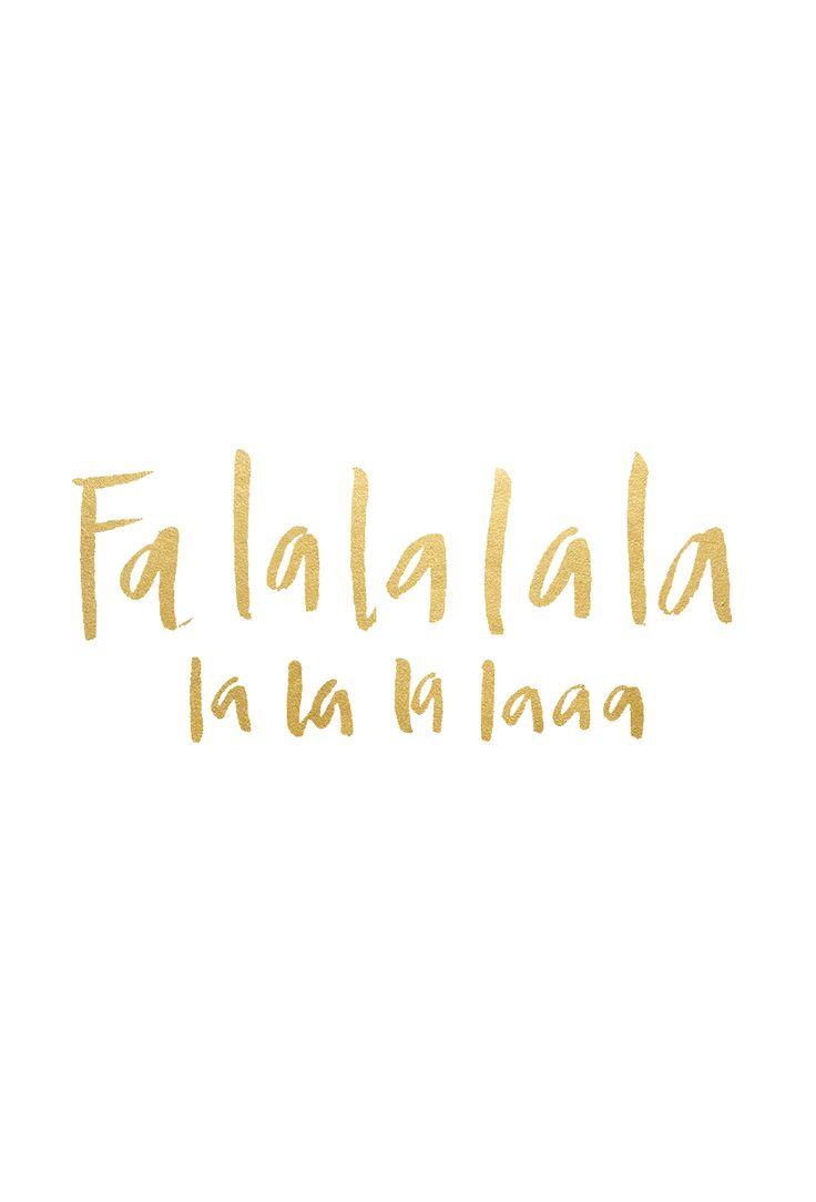fa-la-la-la-la wallpaper