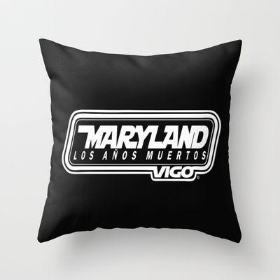 MarylandVigo Maryland - Los Años Muertos Throw Pillow