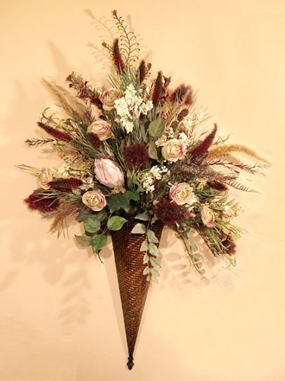 453 best Silk floral arrangements images on Pinterest