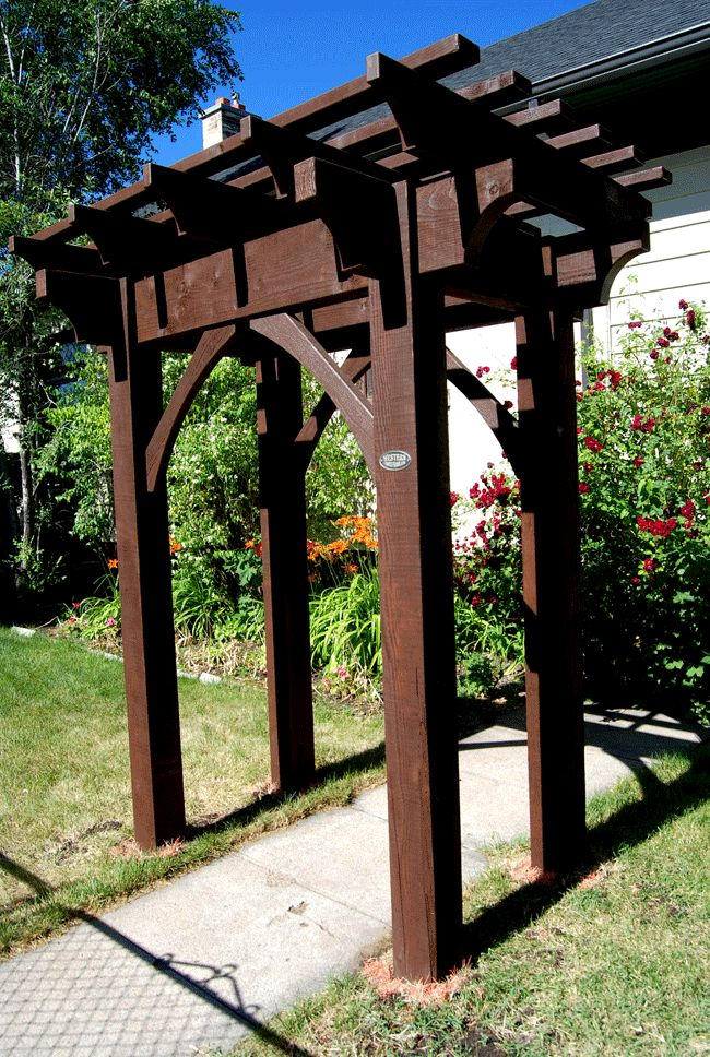 17 best ideas about free standing pergola on pinterest for Diy free standing pergola